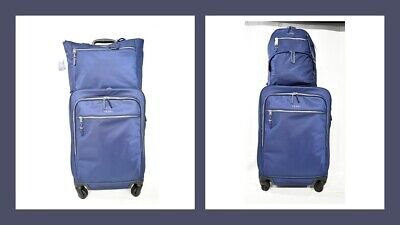 TUMI Voyageur Tres Leger International Nylon Carry-On / Backpack OR Tote in Blue