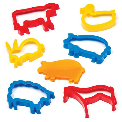 NEW KIDS DOUGH FARM SET MAKE ANIMALS BARN PLANTS FROM PLAYDOUGH TOOLS MOULDS BGC