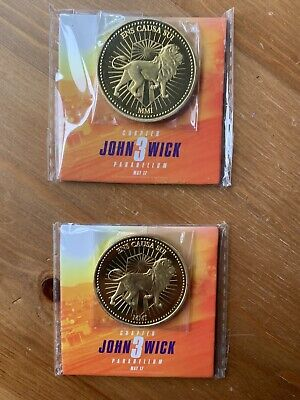 John Wick Chapter 3 Parabellum Official Promo Coins