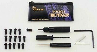 Stop & Go Pocket Tyre Tire Plugger - For All Tubeless Tires Tyres