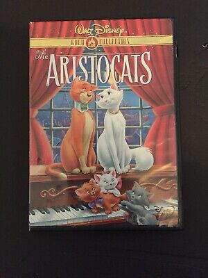 Walt Disney THE ARISTOCATS Gold Collection Classic Family MOVIE DVD Disc 2000