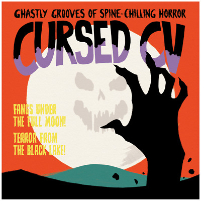 """Serato 12"""" Cursed Control Vinyl - """"Fangs Under the Full Moon!"""" / """"Terror from th"""