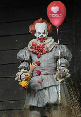 """Exotic IT Pennywise the Clown NECA 7"""" Toy Figure (Bloody Version)"""