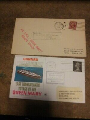 1st Voyage &last Voyage Of Queen Mary Fantastic Full Turnaround