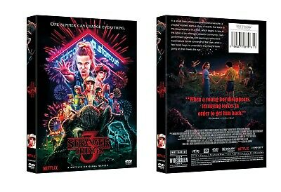 Stranger Things : The Complete Series Seasons 3 (DVD, 2019,3-Disc Box Set)