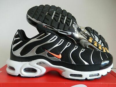 NIKE AIR MAX Grande TN Soi Tuned Noir Argent Orange Homme