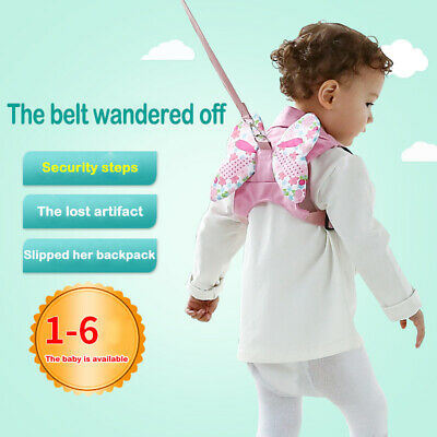 Harness Baby Strap Toddler Walking Keeper Backpack Anti Lost Traction Belt 0-6Y
