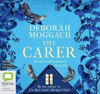 The Carer by Deborah Moggach Compact Disc Book Free Shipping!
