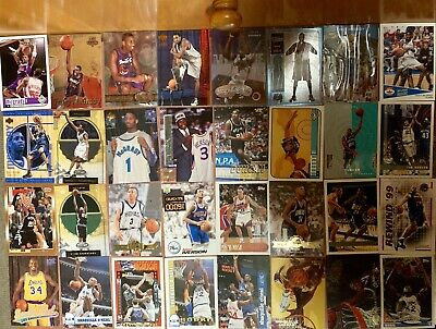 Vintage NBA BASKETBALL 700+ CARD Lot T-Mac SHAQ Barkley Penny Duncan Hill Rookie