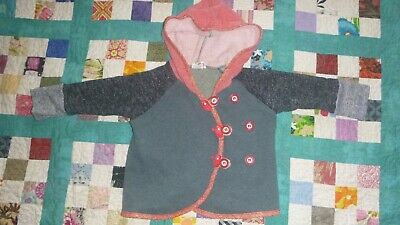 Oishi-m Nailed It Hoodie Size 12-24 months GUC