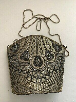 Vintage Evening Bag Beaded and Gorgeous