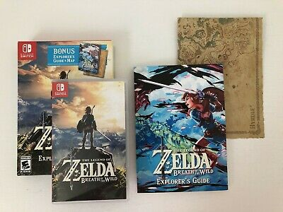 breath of the wild explorers edition best buy