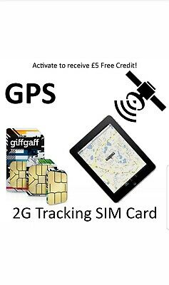 2G Sim Card GPS Tracking Device Tracker GSM Car Pet Child Personal on PAYG