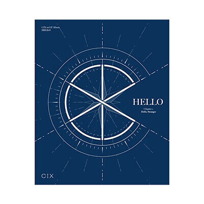 CIX HELLO CHAPTER 1. HELLO, STRANGER 1st EP Album STRANGER CD+2 Photo Book+4Card