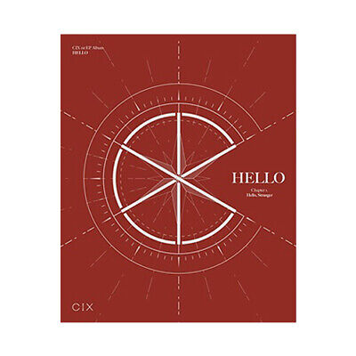 CIX HELLO CHAPTER 1. [HELLO, STRANGER] 1st EP Album HELLO CD+2 Photo Book+4 Card