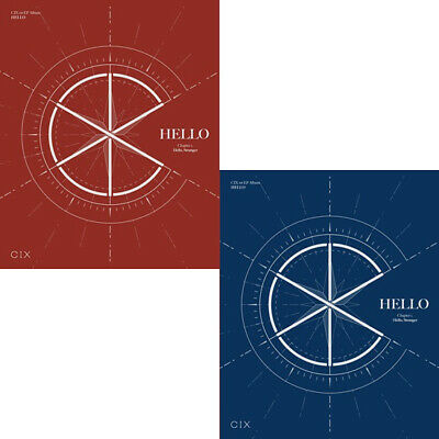 CIX HELLO CHAPTER 1. HELLO, STRANGER 1st EP Album RANDOM CD+POSTER+2 Book+4 Card