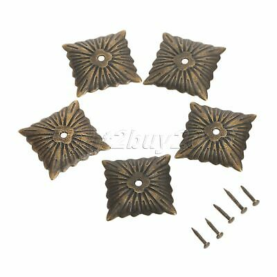 100X Antique Style Decorative Square Upholstery Nails Chair Sofa Door Tack Studs