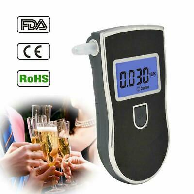 Personal Semi-conductor Breathalyser Digital Alcohol Breath Tester + Mouthpiece