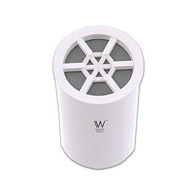 Replacement Cartridge for WaterWell Shower Filter - High Output Chlorine System