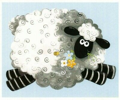 Susybee Lal The Lamb Playmat Quilt Panel * Cute * Free Post * 🐑