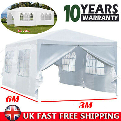 Airwave 3x6m Garden Outdoor Gazebo Waterproof Marquee  Party Tent Wedding Canopy