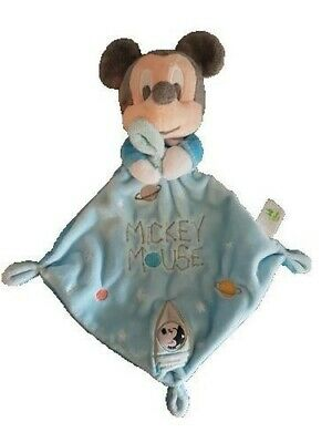 Doudou Disney Mickey Mouse plat Losange Fusee
