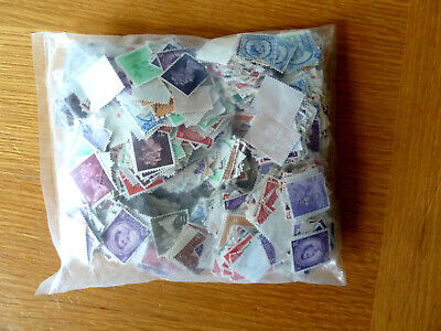 100g GB definitive Stamps - packet is  sealed appear to be pre-decimal issues