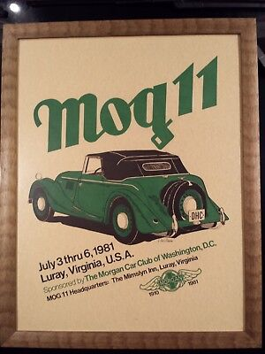 Morgan Car Club Of Washington D.c. 1981 -.