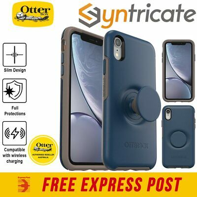 Otterbox Otter + Pop Symmetry Case For Iphone XR - Go To Blue