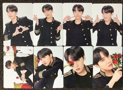 Bts J-Hope Mini Photo Card Lot Of 8 Complete Speak Yourself Md Official