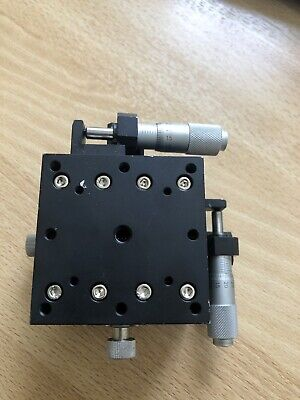 Micro XY Linear Stage 60x60mm-cross-roller bearing miniature compact