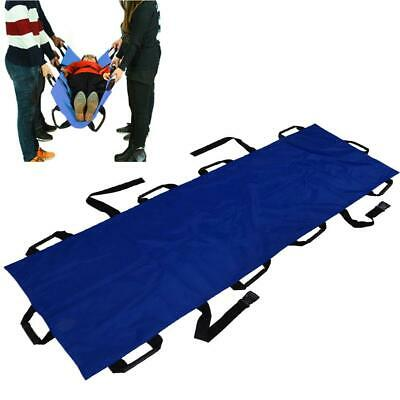 Lightweight Folding Rescue Patient Handles First Aid Stretcher Confined Space
