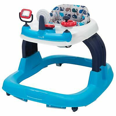 Safety 1st Ready, Set, Walk! 2.0 Developmental Baby Walker with Activity Tray (N