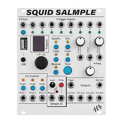 ALM Busy Circuits Squid Salmple 8 Channel Sampler Eurorack Module