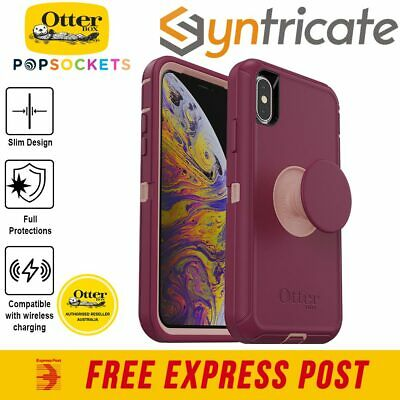 iPhone X/Xs Otterbox Otter + Pop Defender Case - Fall Blossom