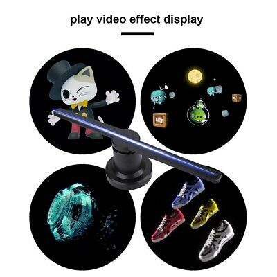 3D LED WiFi Hologram Projector Display Fan Advertising Projection for Windows