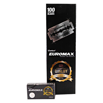 EUROMAX Platinum | Double Edge Razor Blades | Premium Safety DE | 5 Count