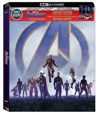 Avengers Endgame - Best Buy Exclusive Steelbook (Blu-ray + 4K UHD) PRE-ORDER!!