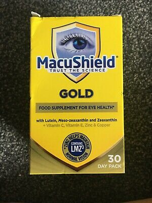 Macushield Gold 90 Capsules 1 Month Supply 90 Capsules - 3 Capsules Per Day
