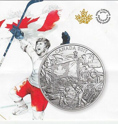 2017 Canada $3.00 99.99% Pure silver coin the Spirit of Canada, Sealed