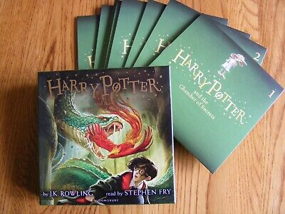 Harry Potter and the Chamber of Secrets - 8 CD Audio Boxset - Unabridged