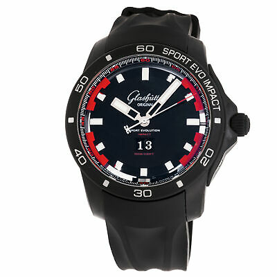 Glashutte Original Sport Evolution Impact Panorama Date Mens Auto 39-47-16-16-04