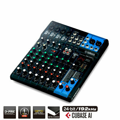 Yamaha Mg10Xu D-Pre Mixer With Effects And Usb