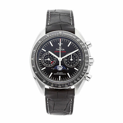 Omega Speedmaster Moon Chrono Auto Steel Mens Strap Watch 304.33.44.52.01.001