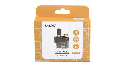 Authentic Smoktech SMOK Trinity Alpha Replacement Pod Cartridge