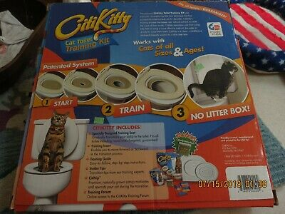 Citikitty Cat Toilet Seat Training System - Brand New