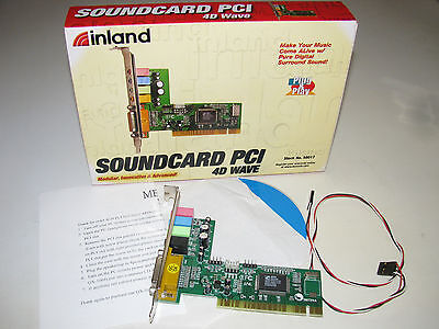 DRIVER UPDATE: INLAND SOUNDCARD