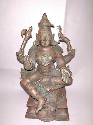 Antique looking Traditional Indian Ethnic Ritual Sculpture God SHIVA Rare
