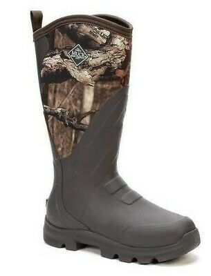 Muck Boots Men's Woody Grit (Mossy Oak Infinity) (Size 7) (WDC-INF-RT-070)