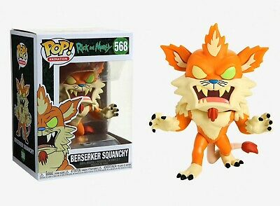 Funko Pop Animation: Rick and Morty - Berserker Squanchy Vinyl Figure #40251